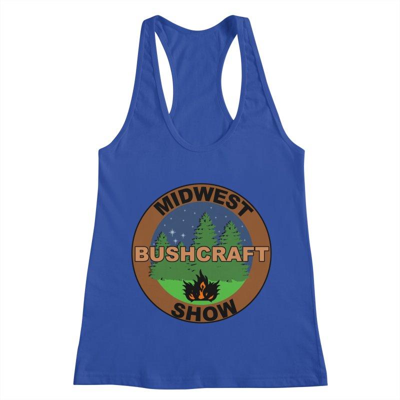 Official Show Logo Women's Racerback Tank by midwestbushcraftshow's Artist Shop