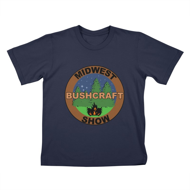 Official Show Logo Kids T-Shirt by midwestbushcraftshow's Artist Shop
