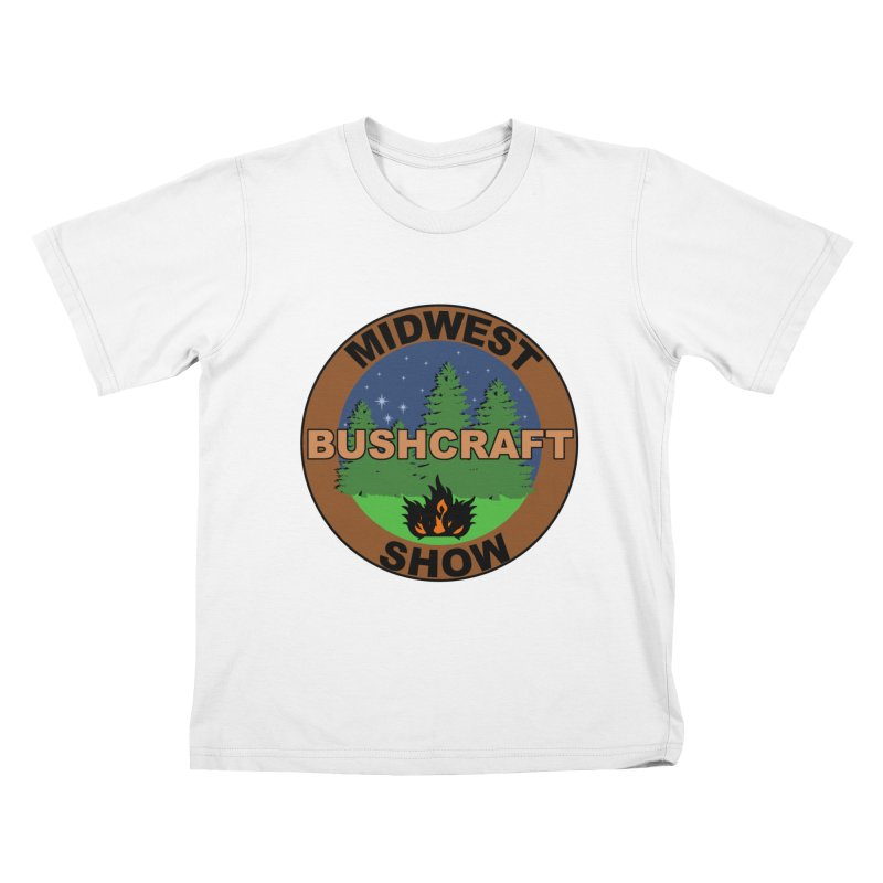 Official Show Logo Kids T-Shirt by midwestbushcraftshow's Artist Shop