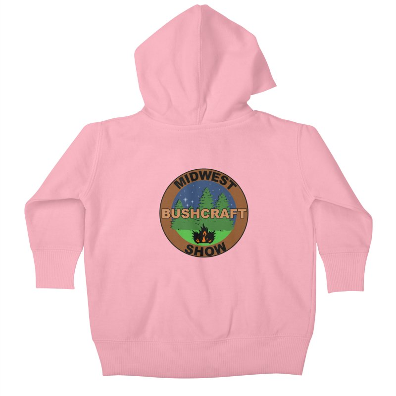 Official Show Logo Kids Baby Zip-Up Hoody by midwestbushcraftshow's Artist Shop