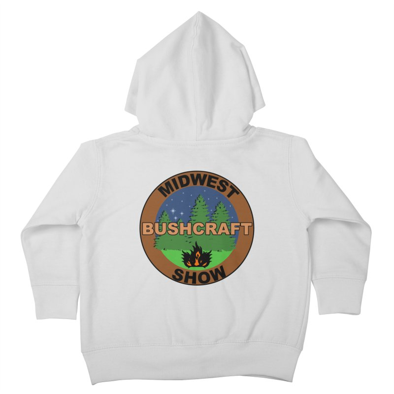 Official Show Logo Kids Toddler Zip-Up Hoody by midwestbushcraftshow's Artist Shop
