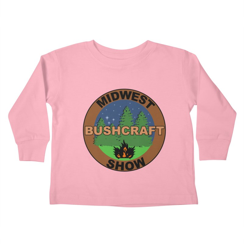 Official Show Logo Kids Toddler Longsleeve T-Shirt by midwestbushcraftshow's Artist Shop
