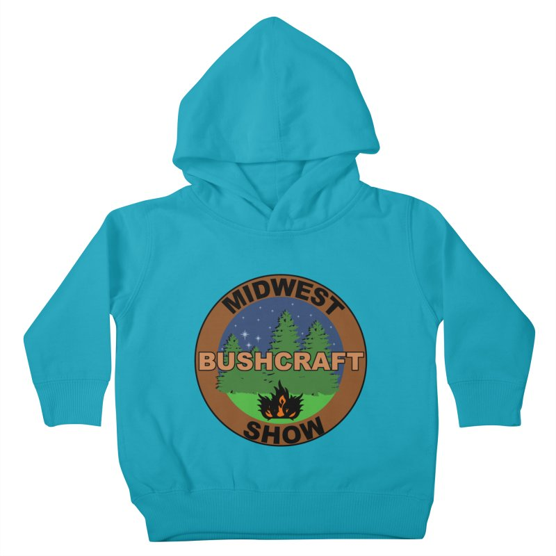 Official Show Logo Kids Toddler Pullover Hoody by midwestbushcraftshow's Artist Shop