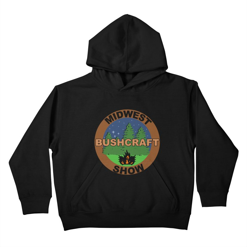 Official Show Logo Kids Pullover Hoody by midwestbushcraftshow's Artist Shop