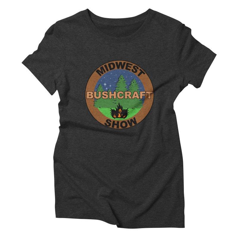 Official Show Logo Women's Triblend T-Shirt by midwestbushcraftshow's Artist Shop