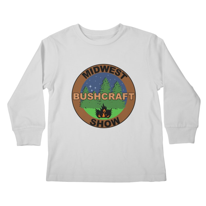Official Show Logo Kids Longsleeve T-Shirt by midwestbushcraftshow's Artist Shop