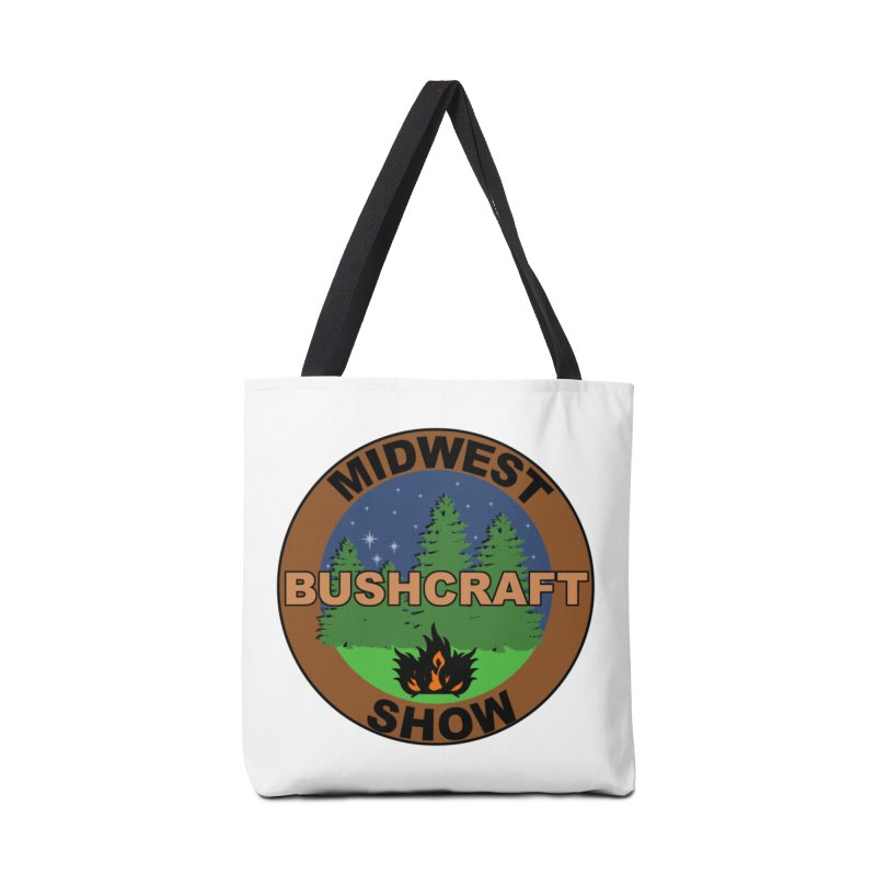 Official Show Logo Accessories Tote Bag Bag by midwestbushcraftshow's Artist Shop