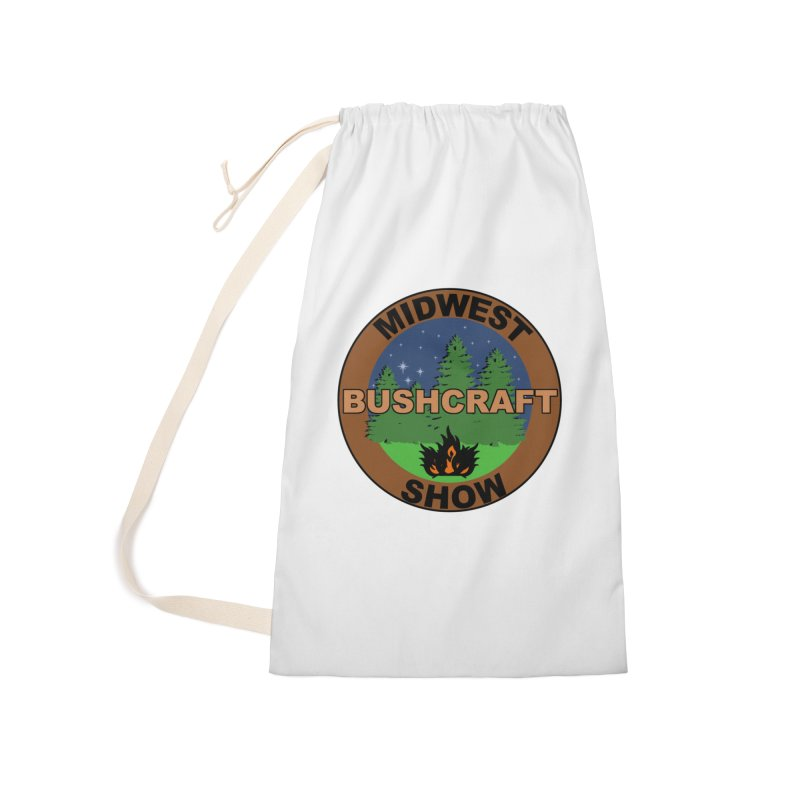 Official Show Logo Accessories Laundry Bag Bag by midwestbushcraftshow's Artist Shop