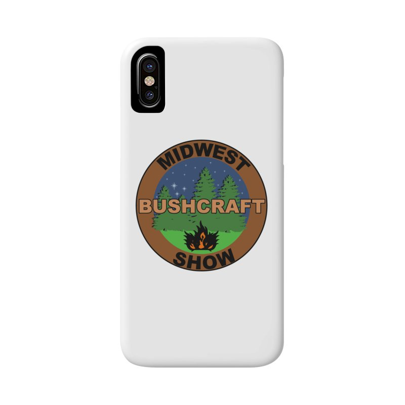 Official Show Logo Accessories Phone Case by midwestbushcraftshow's Artist Shop
