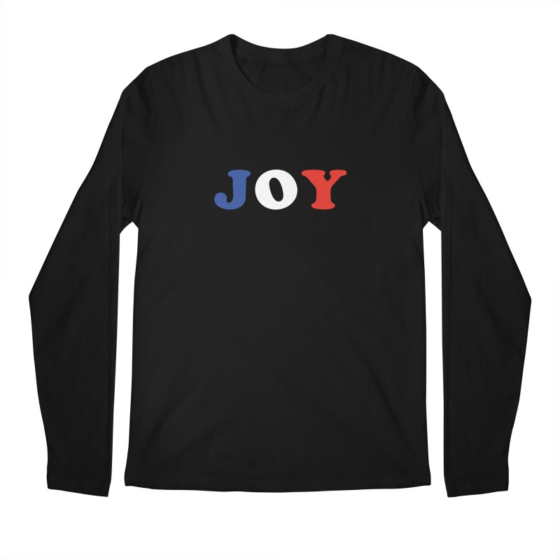 Joy Men's Longsleeve T-Shirt by Miezerie