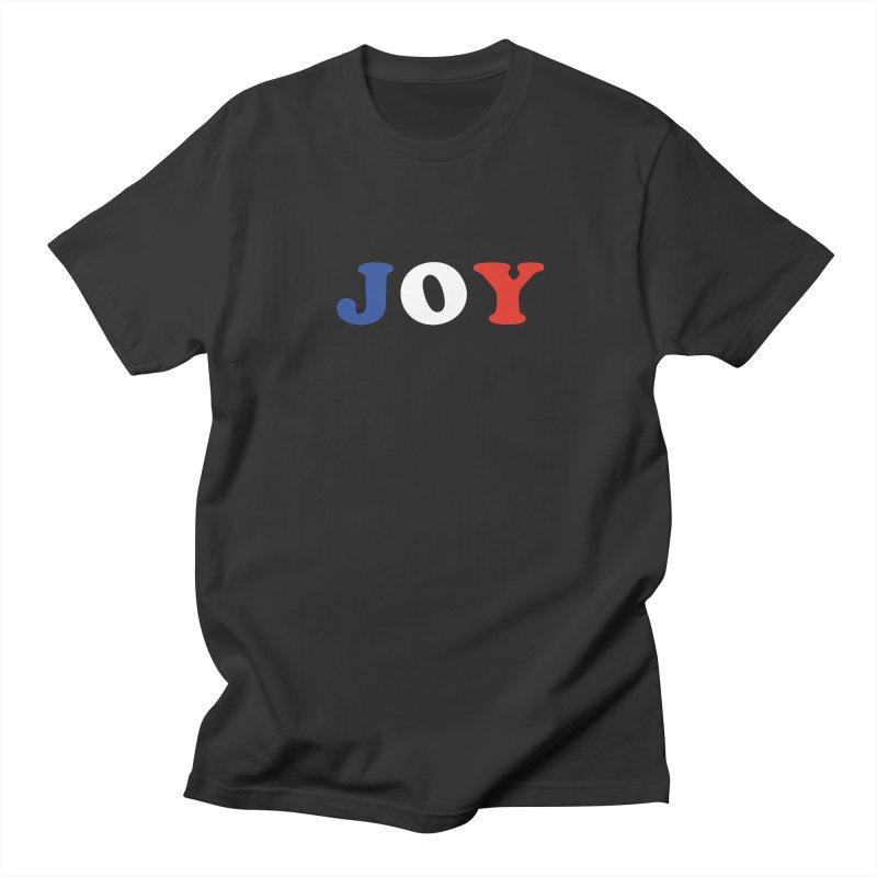 Joy Men's T-Shirt by Miezerie