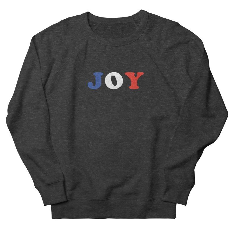 Joy Men's French Terry Sweatshirt by Miezerie