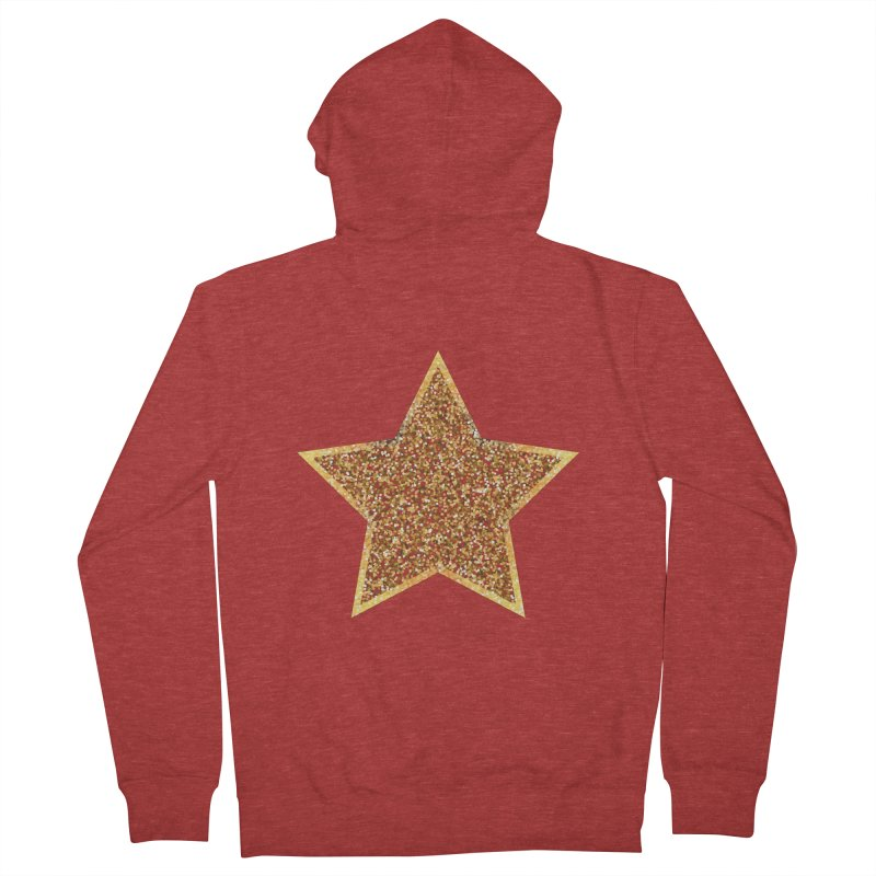 Super 'Star' Women's Zip-Up Hoody by Miezerie