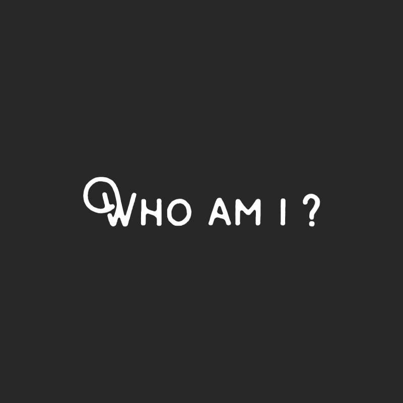 Who am i? by Miezerie