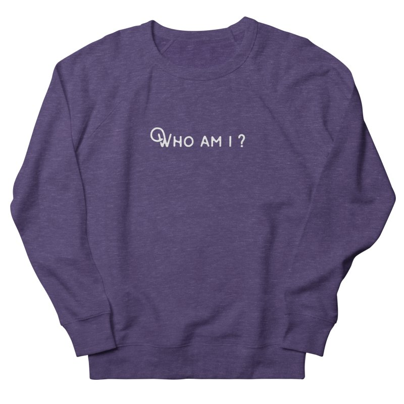 Who am i? Men's Sweatshirt by Miezerie