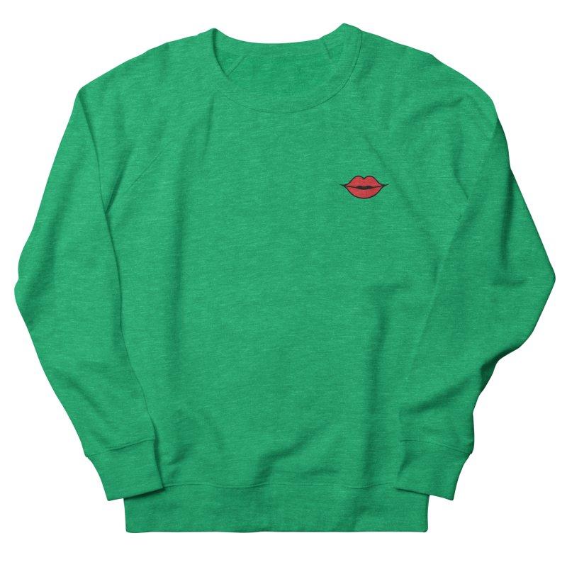 Lip Women's French Terry Sweatshirt by Miezerie