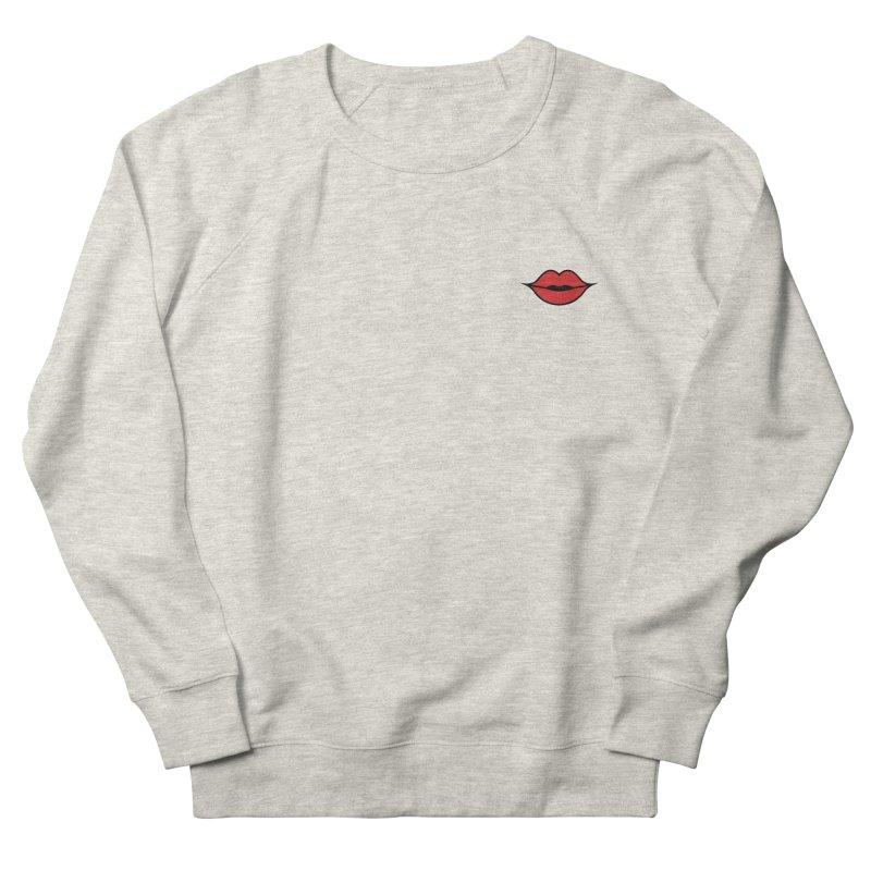 Lip Women's Sweatshirt by Miezerie