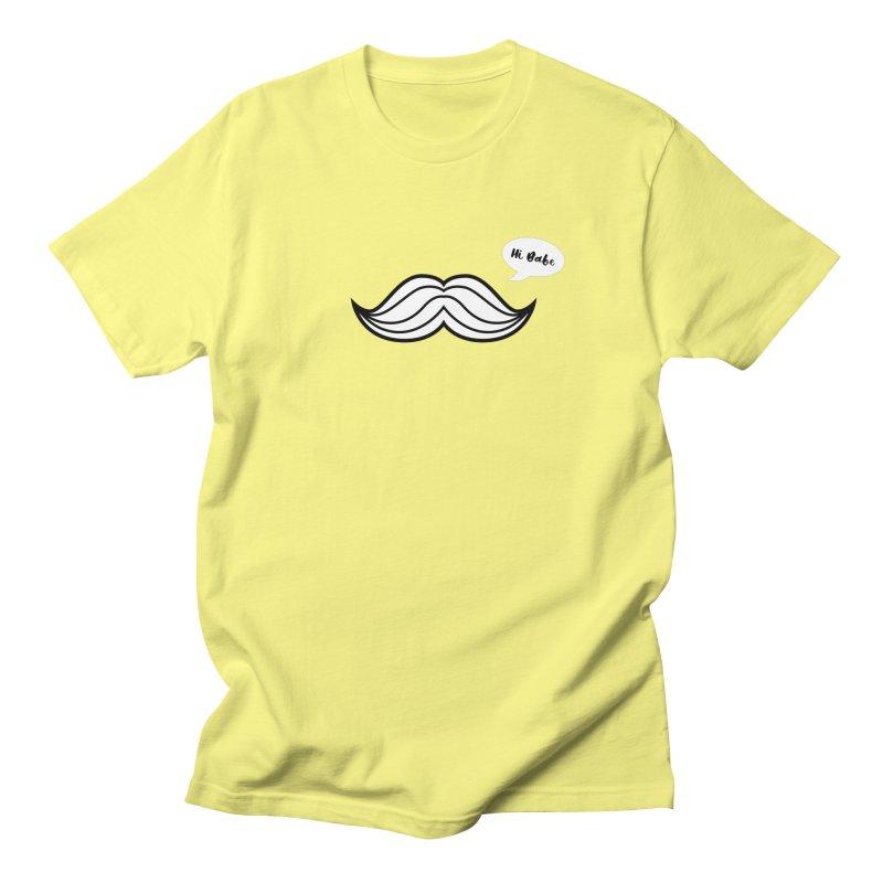 Hi Babe Men's T-Shirt by Miezerie