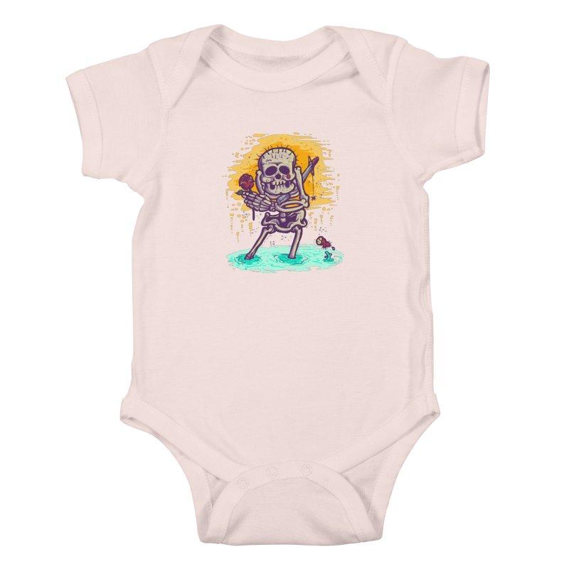 iwakpeli Kids Baby Bodysuit by miftake's Artist Shop