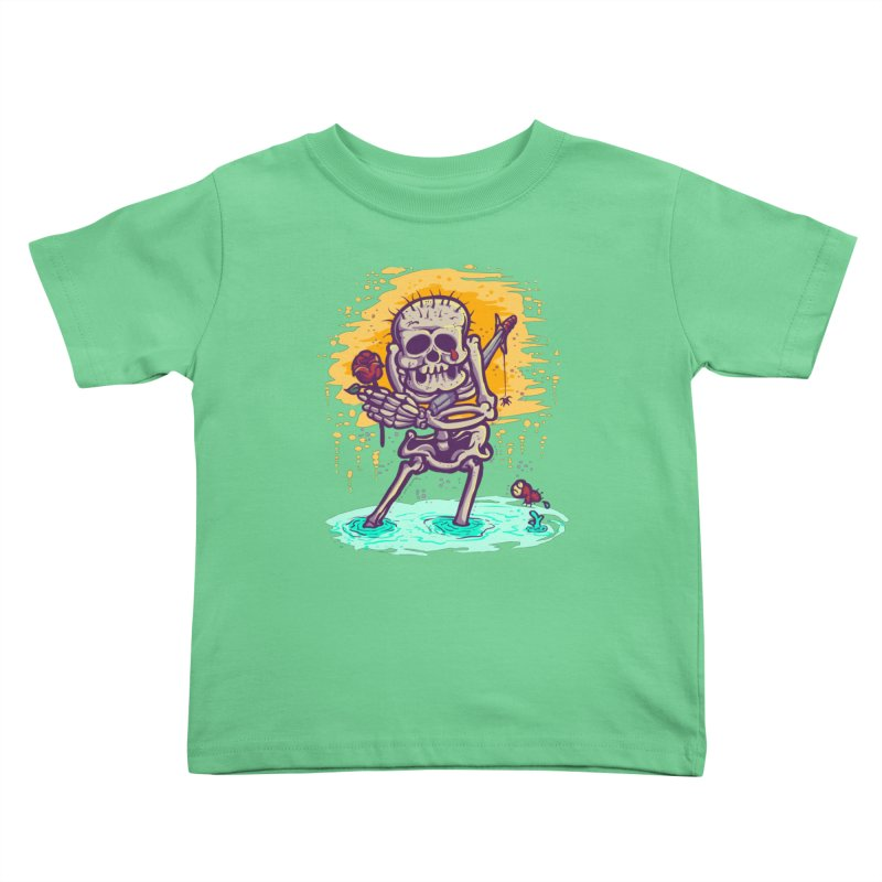 iwakpeli Kids Toddler T-Shirt by miftake's Artist Shop