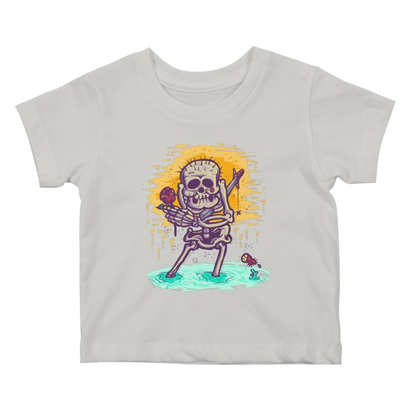 iwakpeli Kids Baby T-Shirt by miftake's Artist Shop