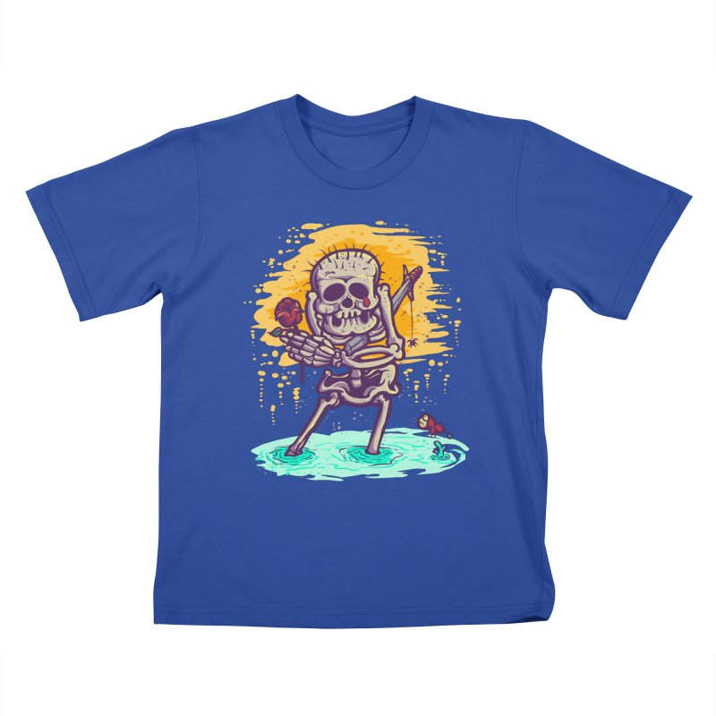 iwakpeli Kids T-shirt by miftake's Artist Shop