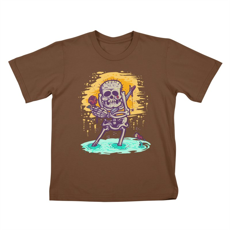 iwakpeli Kids T-shirt by miftake's Artist Shop