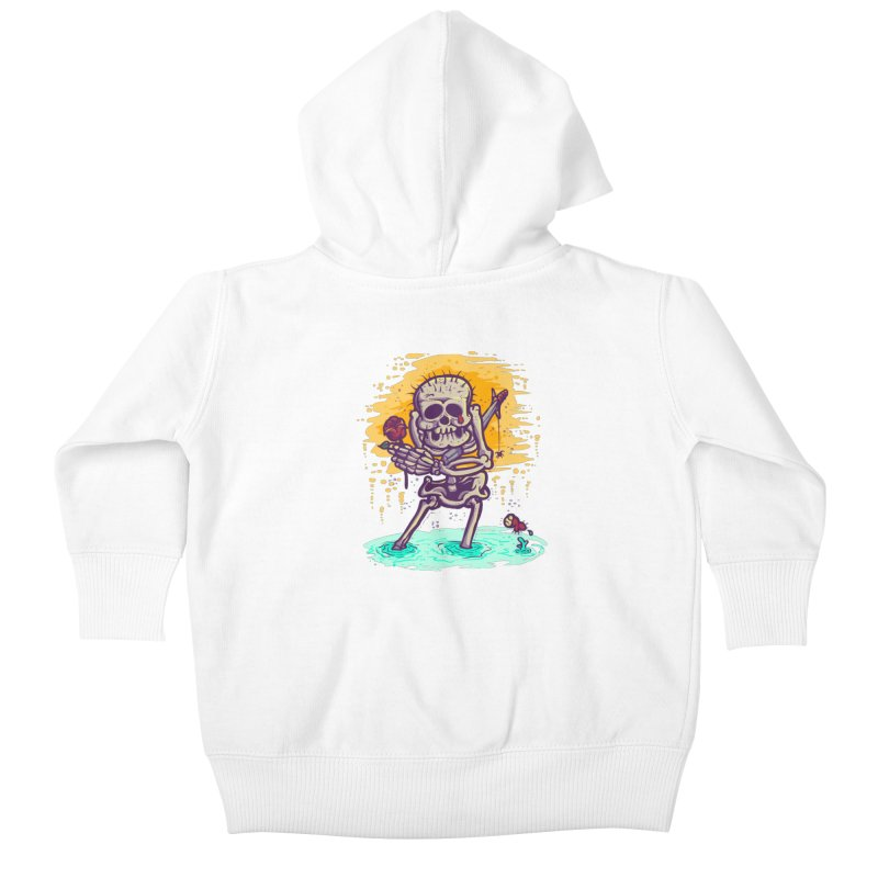 iwakpeli Kids Baby Zip-Up Hoody by miftake's Artist Shop