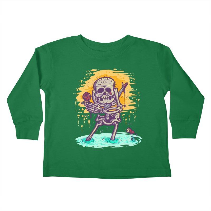 iwakpeli Kids Toddler Longsleeve T-Shirt by miftake's Artist Shop