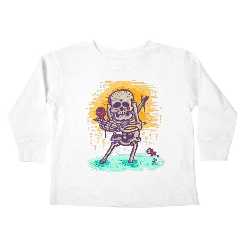 iwakpeli Kids Toddler Longsleeve T-Shirt by miftake's Artist Shop