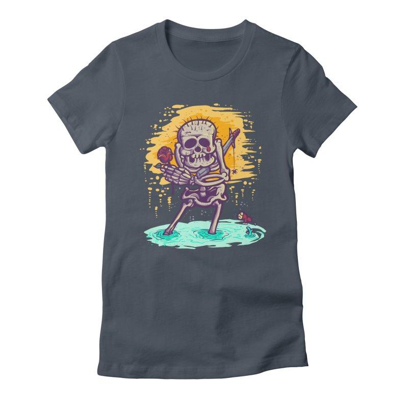 iwakpeli Women's Fitted T-Shirt by miftake's Artist Shop