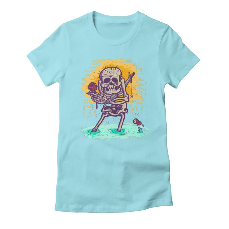 iwakpeli Women's Fitted T-Shirt by miftake's Artist Shop