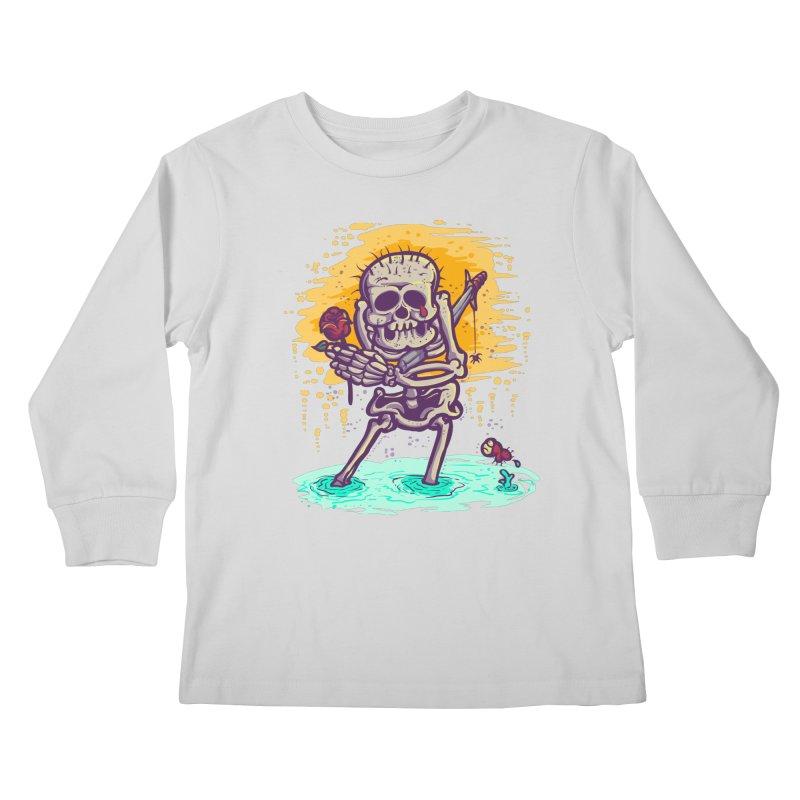 iwakpeli Kids Longsleeve T-Shirt by miftake's Artist Shop