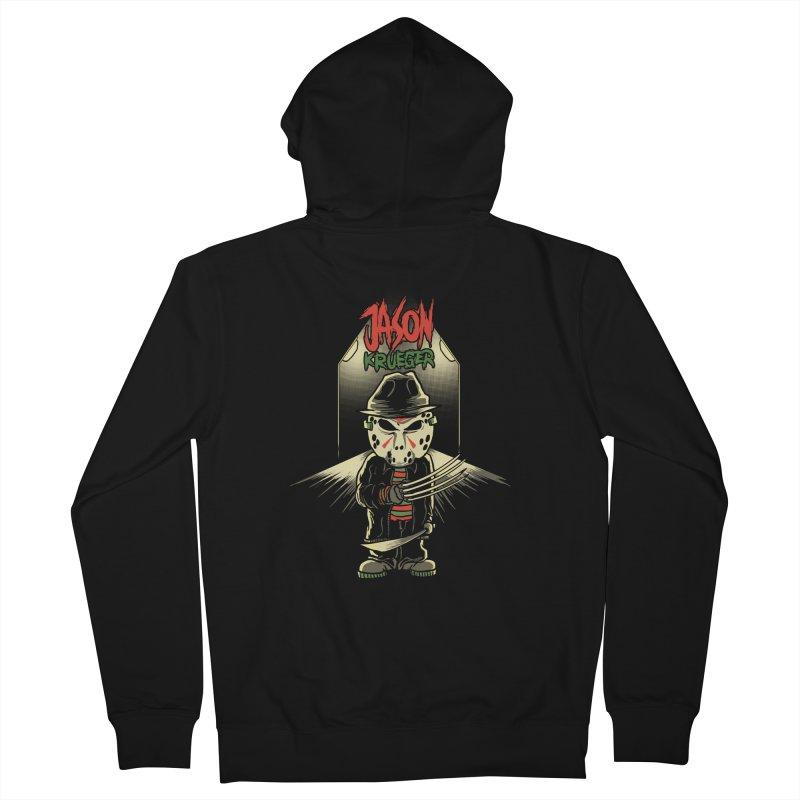 Jason Krueger Men's Zip-Up Hoody by miftake's Artist Shop