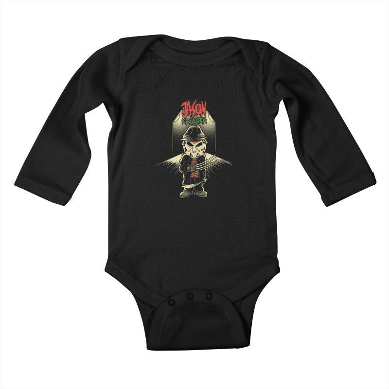 Jason Krueger Kids Baby Longsleeve Bodysuit by miftake's Artist Shop