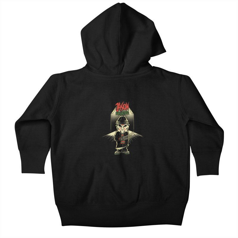 Jason Krueger Kids Baby Zip-Up Hoody by miftake's Artist Shop
