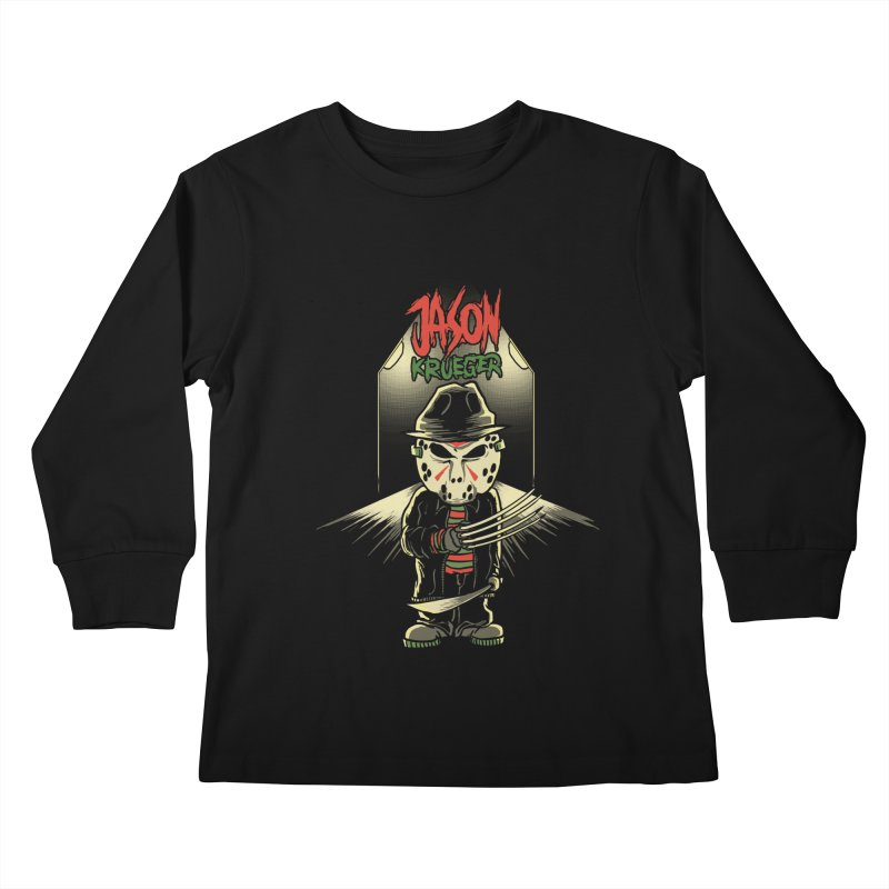 Jason Krueger Kids Longsleeve T-Shirt by miftake's Artist Shop