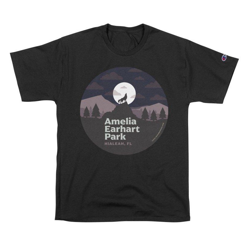 Amelia Earhart Park Men's T-Shirt by miggsmendoza's Shop