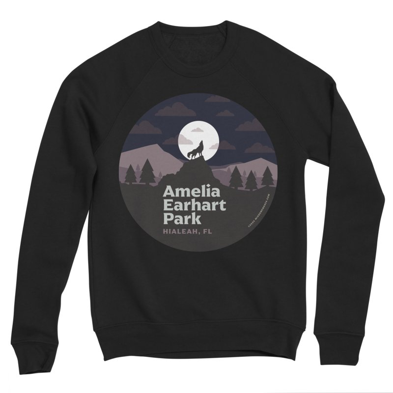 Amelia Earhart Park Men's Sweatshirt by miggsmendoza's Shop