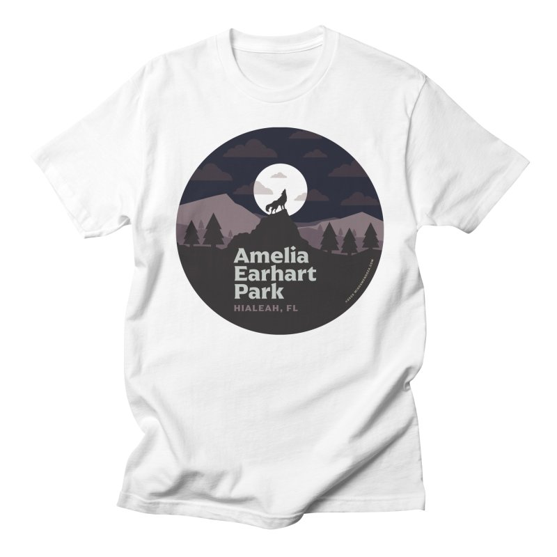 Amelia Earhart Park Men's T-Shirt by miggsmendoza's Shop