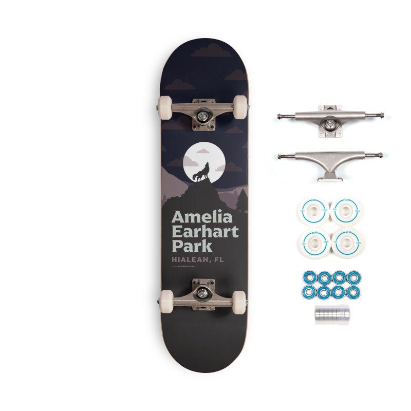 Amelia Earhart Park Accessories Skateboard by miggsmendoza's Shop