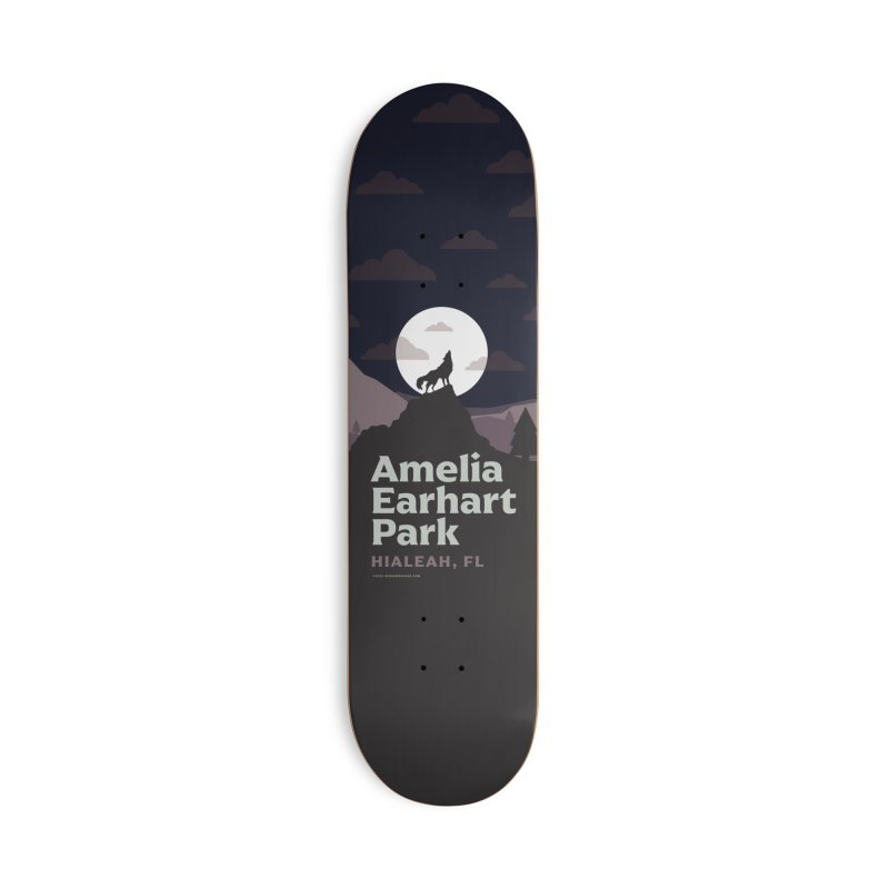 Amelia Earhart Park Accessories Skateboard by miggsmendoza's Shop