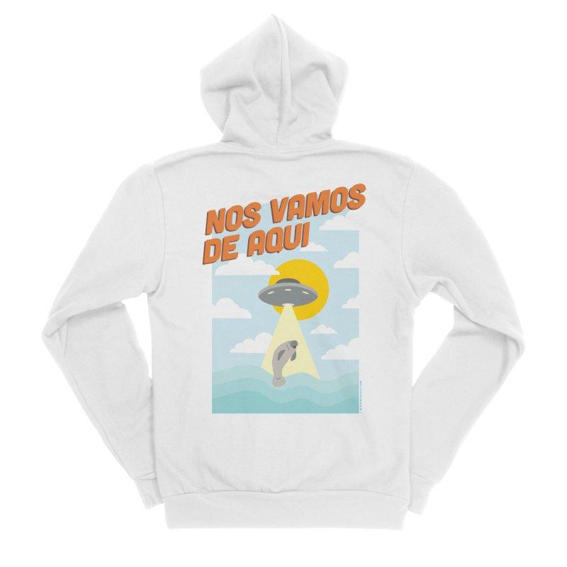Nos Vamos Men's Zip-Up Hoody by miggsmendoza's Shop
