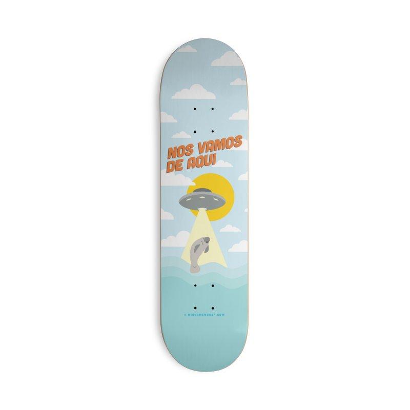 Nos Vamos Accessories Skateboard by miggsmendoza's Shop