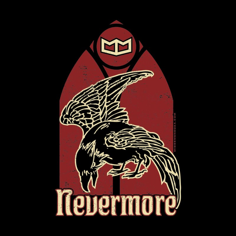 Nevermore Accessories Sticker by miggsmendoza's Shop