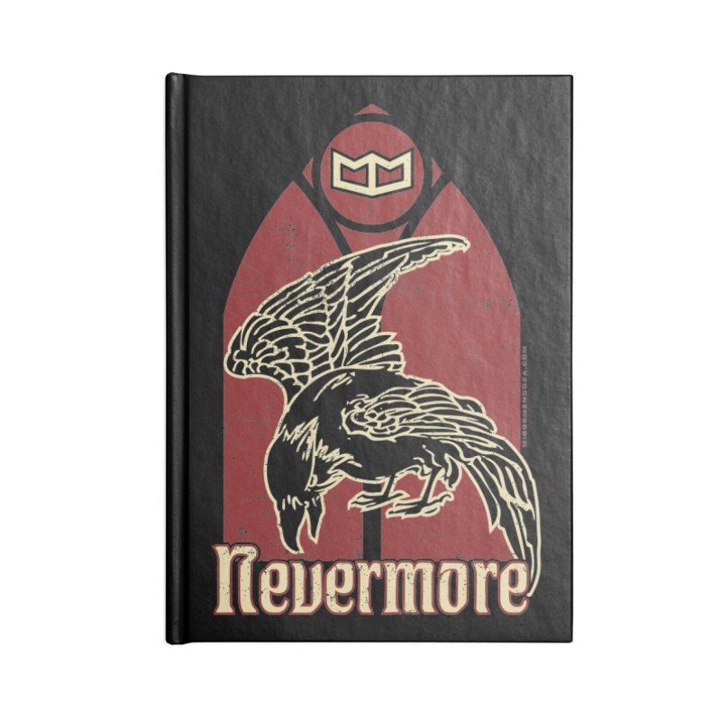 Nevermore Accessories Notebook by miggsmendoza's Shop