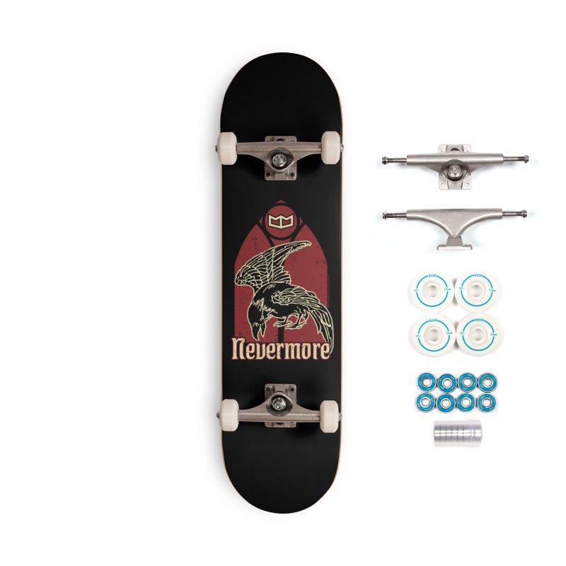 Nevermore Accessories Skateboard by miggsmendoza's Shop