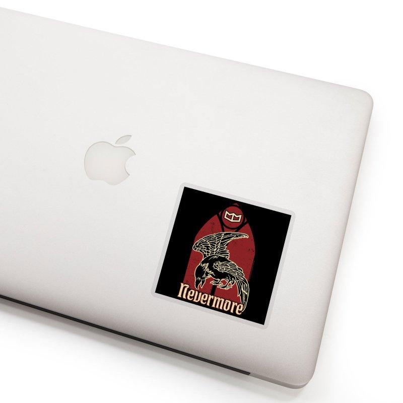 Nevermore Accessories Sticker by miggsmendoza's Shop