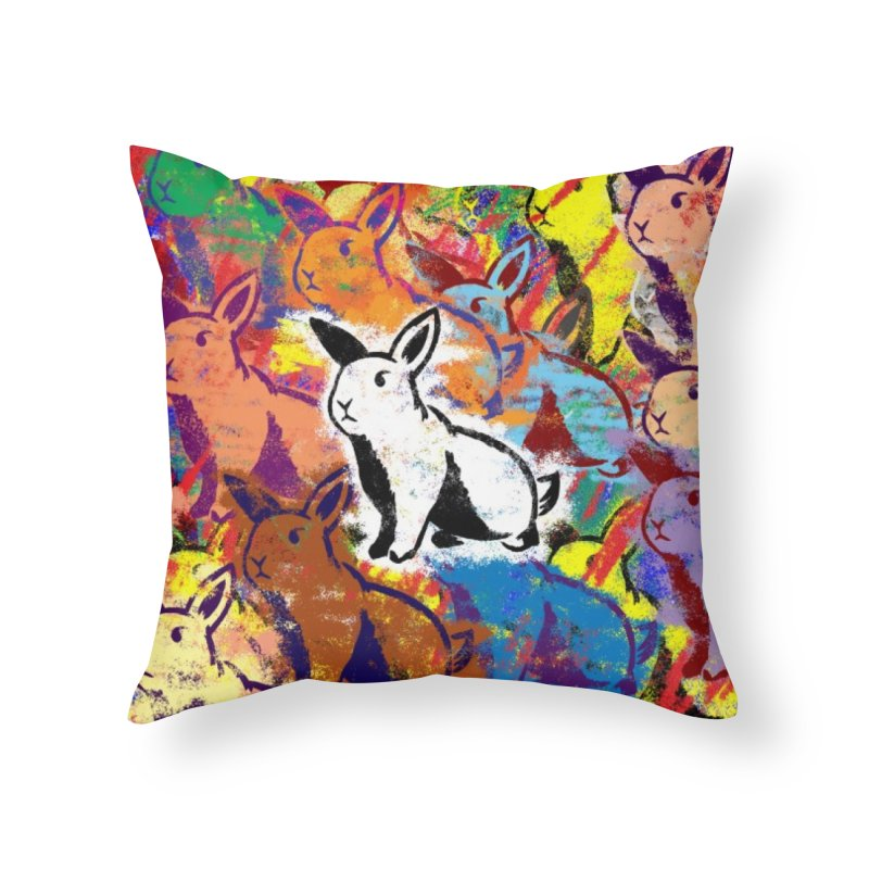 Colours Home Throw Pillow by miggsmendoza's Shop