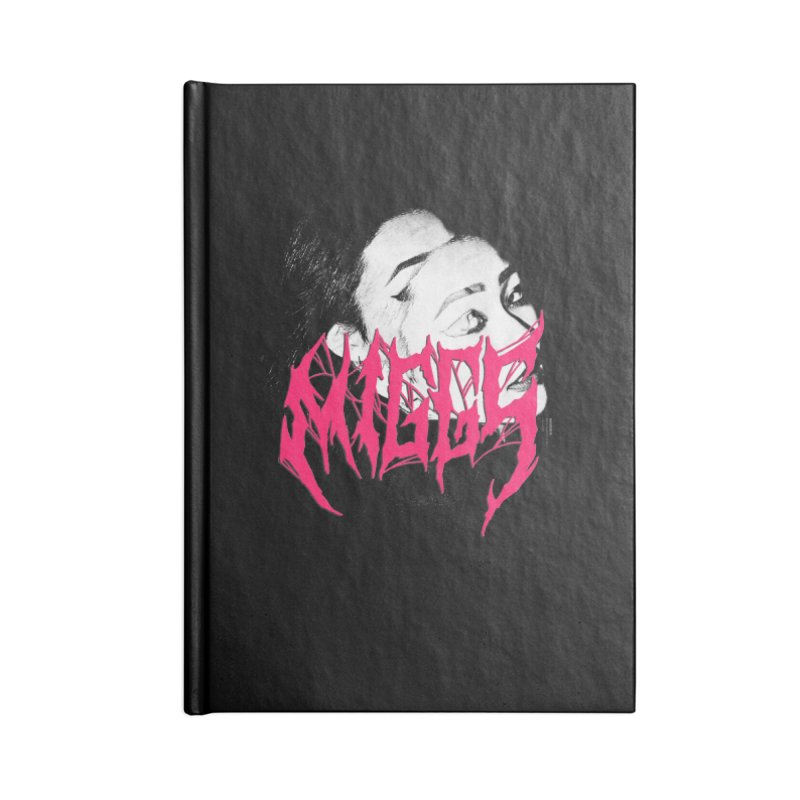 DEATH MMETAL Accessories Notebook by miggsmendoza's Shop